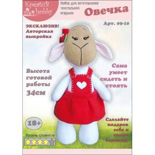 Набор для шитья игрушки «Овечка» 09-10